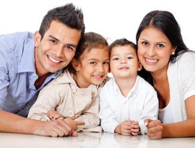 a family smiles | general dentist Humble TX