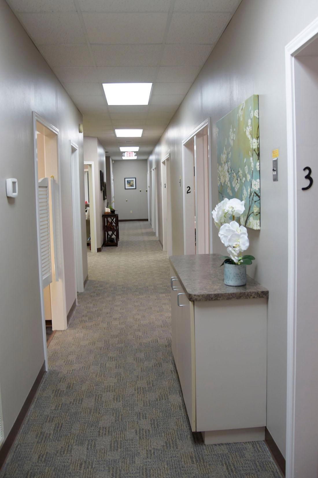 Hallway at Humble Dentistry | Humble, TX