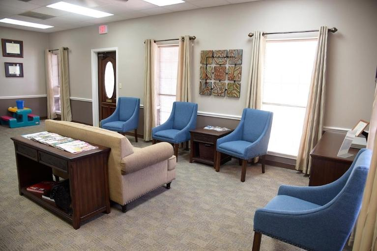 our front office reception area | dentist humble